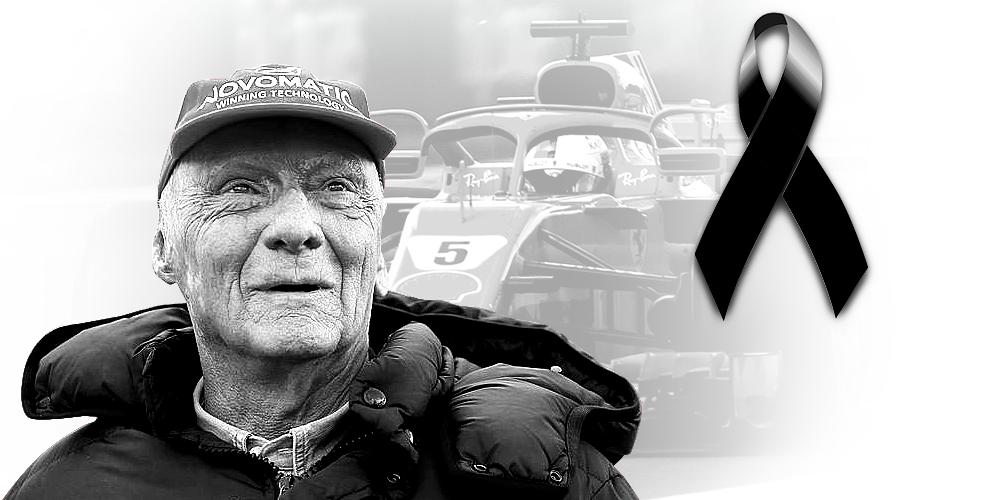 Muere Niki Lauda, tricampeón de la Fórmula 1