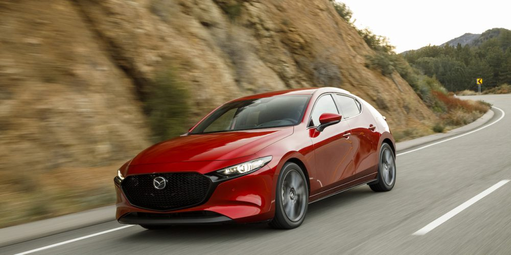 El Mazda3 sedán y hatchback 2019 obtiene el premio IIHS Top Safety Pick