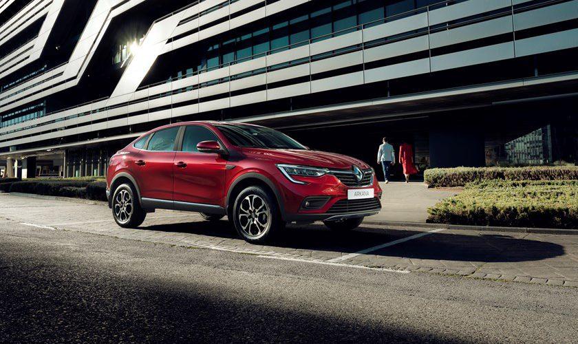 Renault Arkana, un nuevo Coupé SUV entra a producción