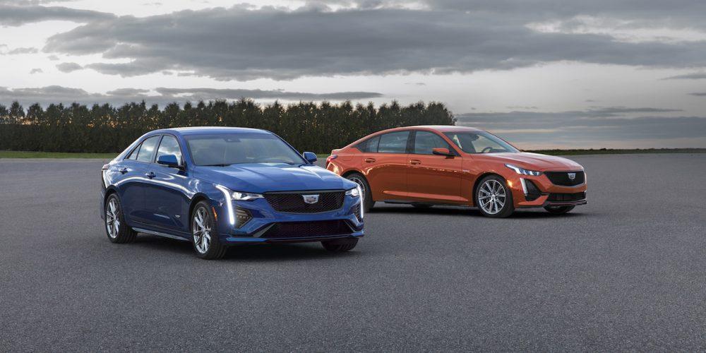 Cadillac nos muestra los nuevos CT4-V y CT5-V