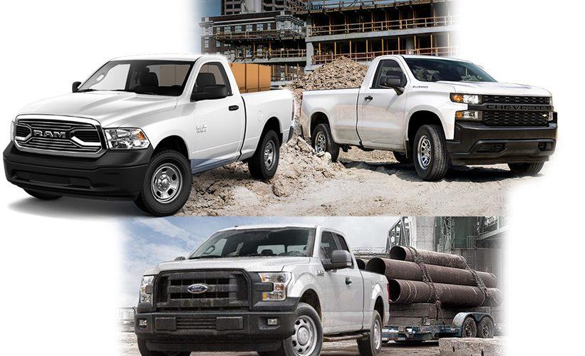 ¿Cuál elegir? Chevrolet Silverado, Ford F-150 o RAM ST 1500, ¡las tres son muy buenas!