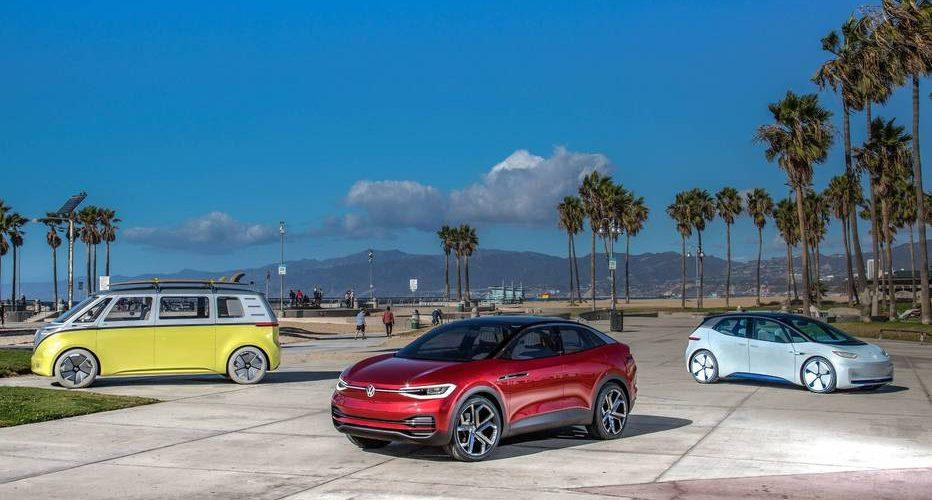 Volkswagen en Alemania ya tiene más de 200 autos ID de pre producción