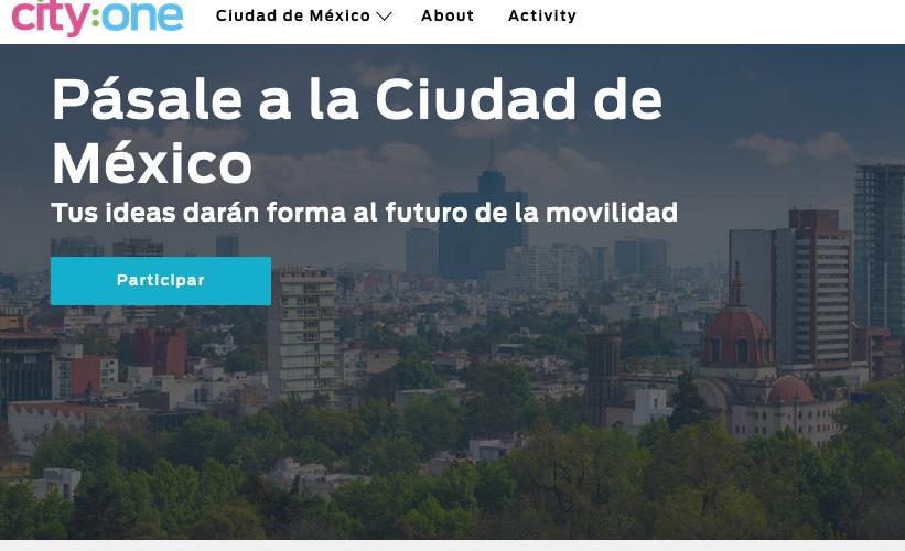 Ford y el Gobierno de la CDMX lanzan City:One Challenge