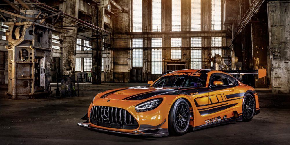 Der neue Mercedes-AMG GT3 The new Mercedes-AMG GT3