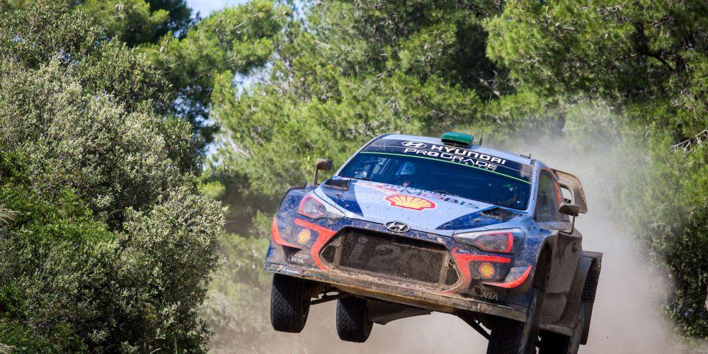 El equipo Hyundai se reporta listo para el Rally de Italia