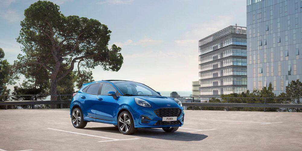 Ford lanza para Europa el Puma, un Crossover compacto con gran diseño y equipamiento