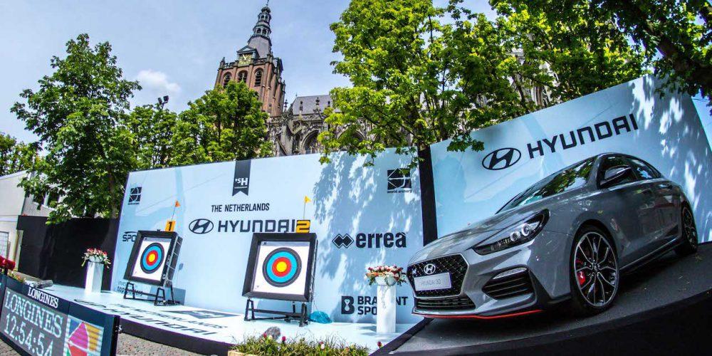 Hyundai presente con el Campeonato Mundial de Tiro Con Arco