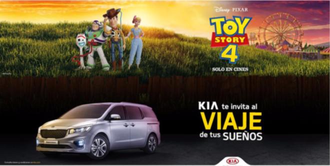 """¿Listo para ver Toy Story 4? KIA lanza """"Sedona Family Story"""" y te puedes ir de viaje"""