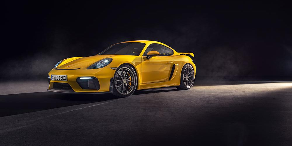 Porsche 718 Spyder y 718 Cayman GT4, motor atmosférico y manuales ¿algo más?