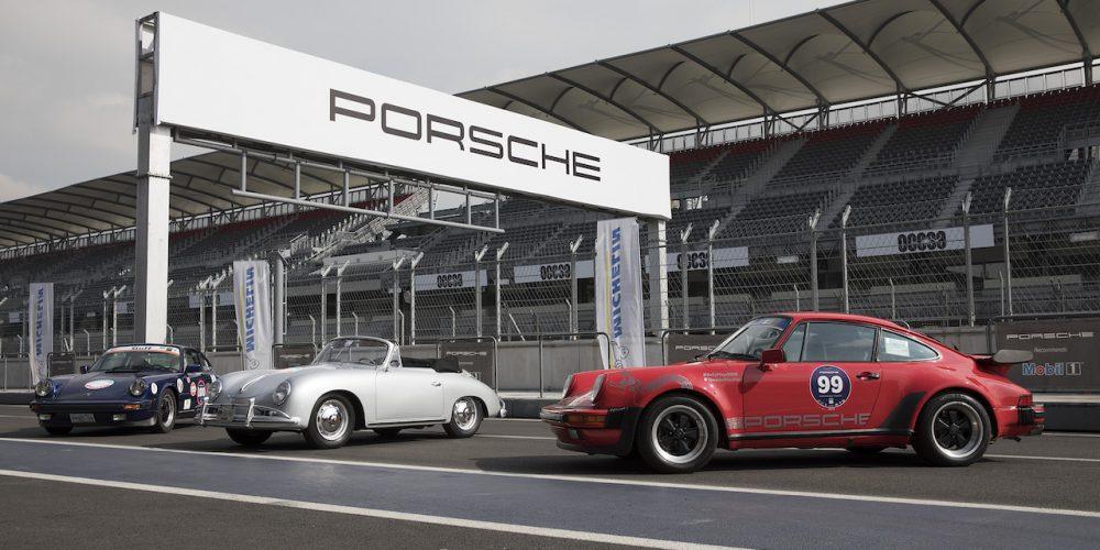 Porsche Parade 2019, el Autódromo Hermanos Rodríguez recibió a mas de 150 autos