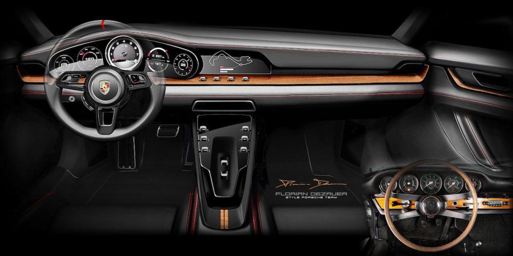 El diseño lo es casi todo en un auto y Porsche lo sabe