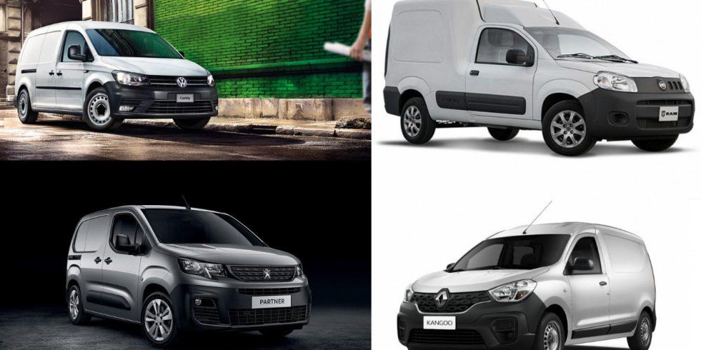 Comparativa: Peugeot Partner, RAM ProMaster Rapid, Renault Kangoo y Volkswagen Caddy Cargo Van