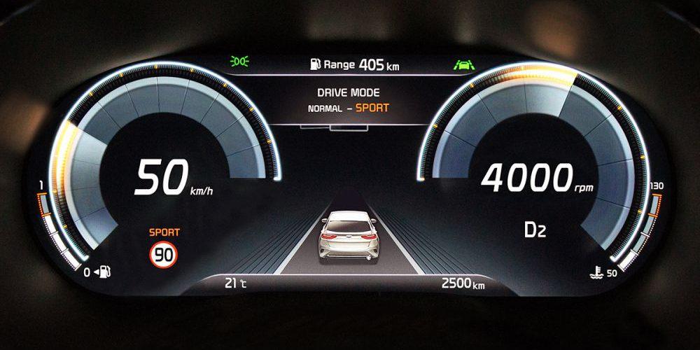 KIA actualiza el cuadro de instrumentos en sus autos, el XCeed será el primero