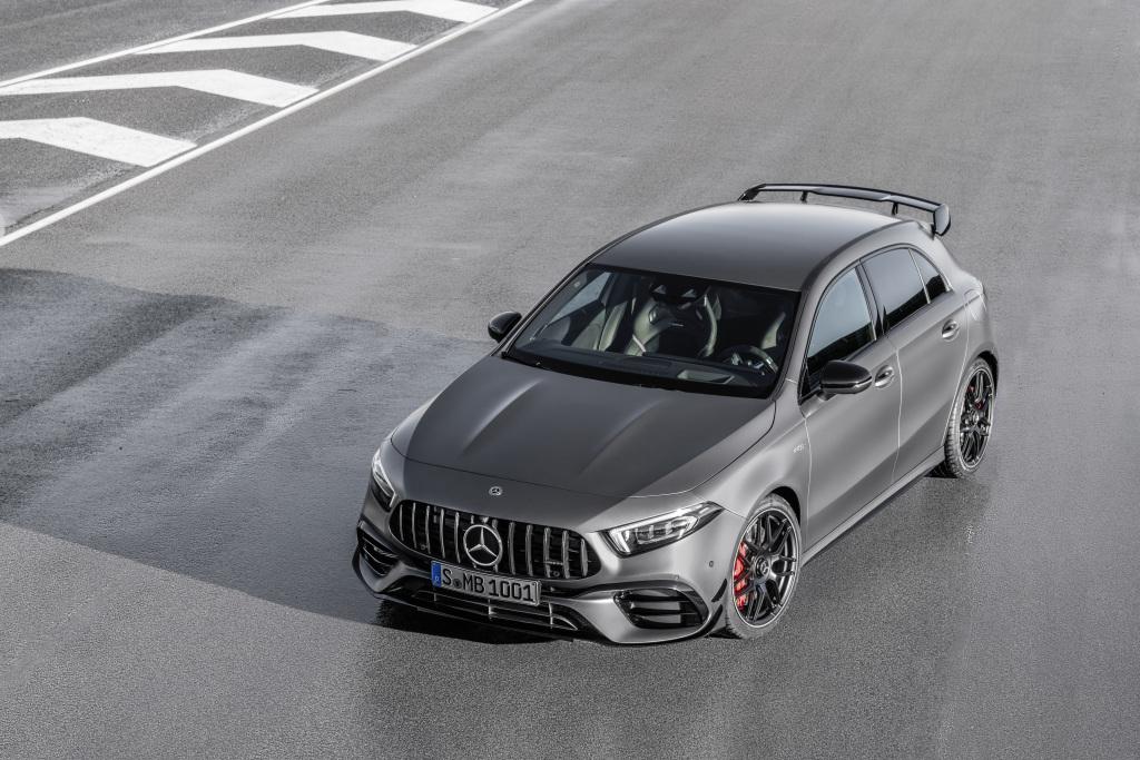 El nuevo Mercedes-AMG A 45 4MATIC + y CLA 45 4MATIC +, adrenalina asegurada