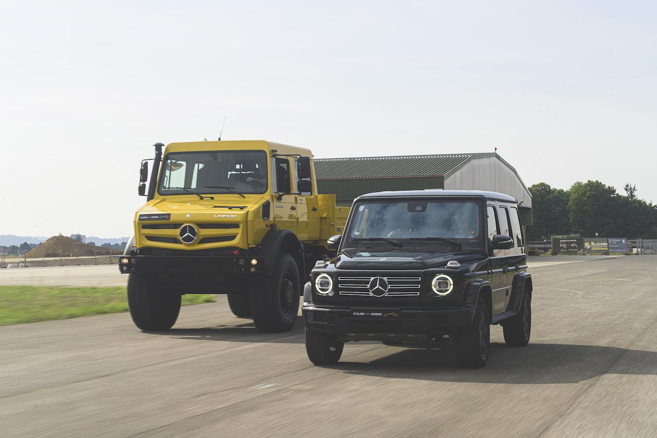 Lo íconos del 4X4 alemán: Clase G y Unimog, gigantes poderosos