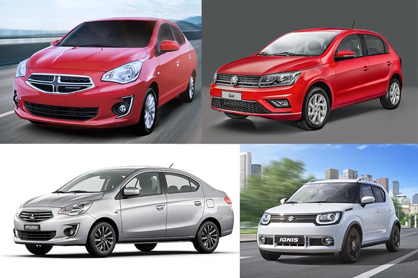 ¿Qué auto económico me compro? 12 opciones por menos de 215 mil pesos