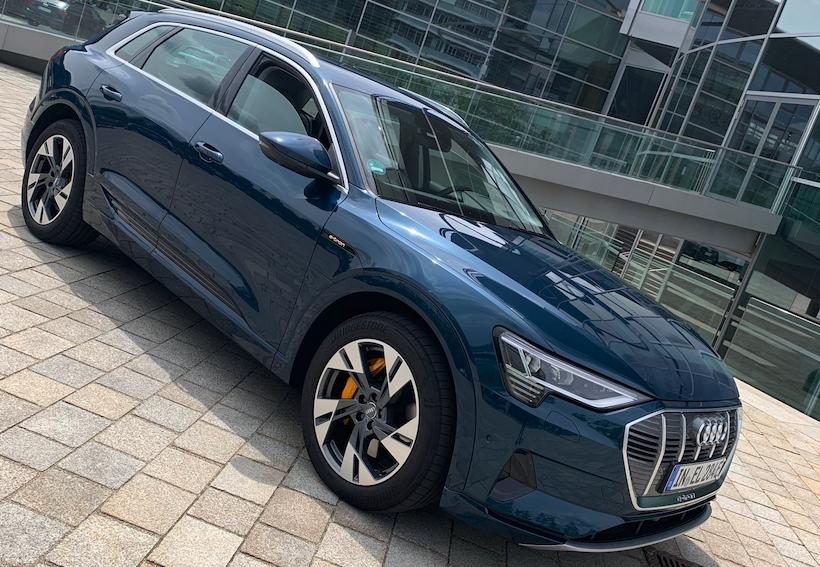 E-tron la electricidad llegó a los cuatro aros de Audi