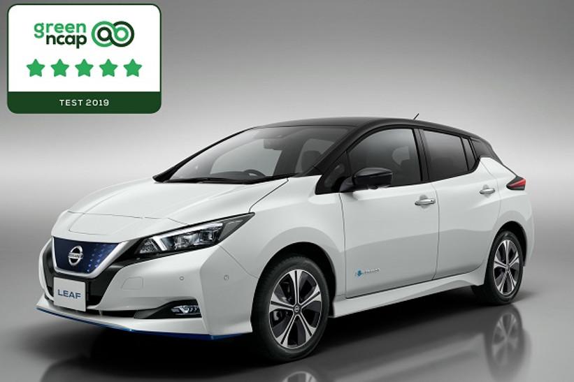 Reconocen en eficiencia a Nissan Leaf en Europa