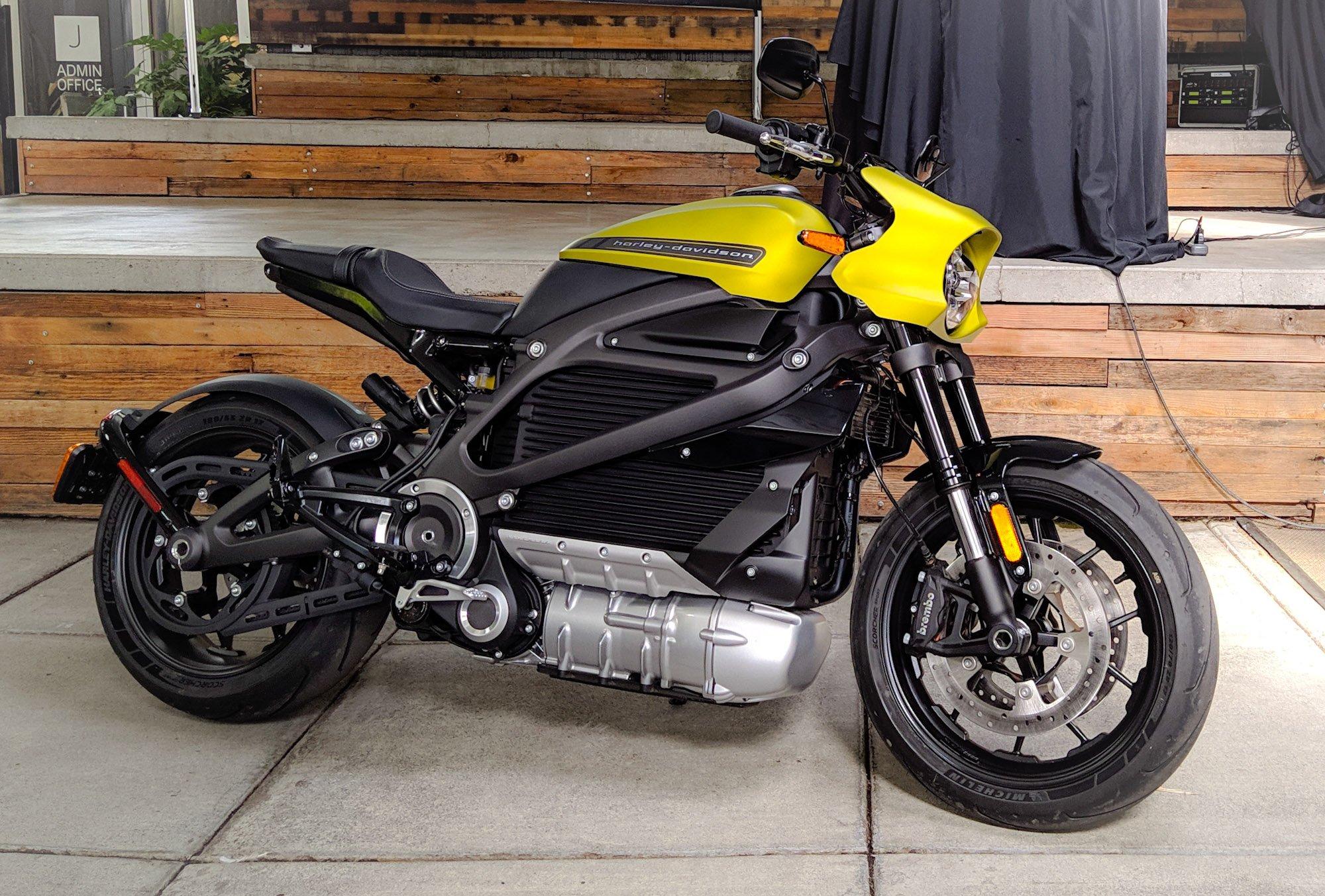 Harley-Davidson LiveWire, el futuro llegó