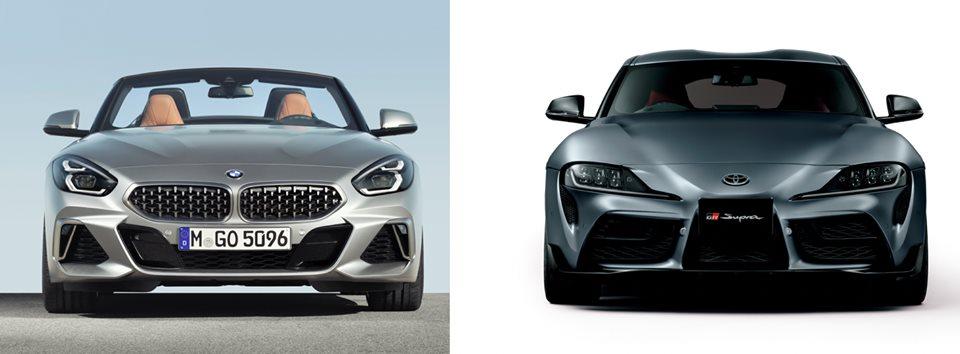 BMW Z4 y Toyota Supra, comparativa