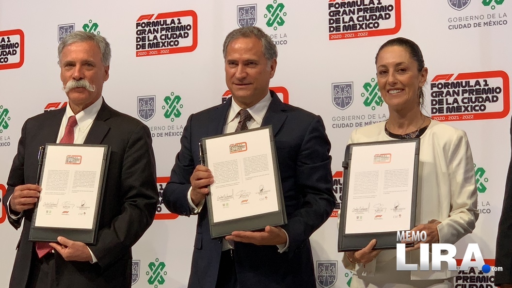 La Fórmula 1 correrá en México por lo menos hasta el 2022