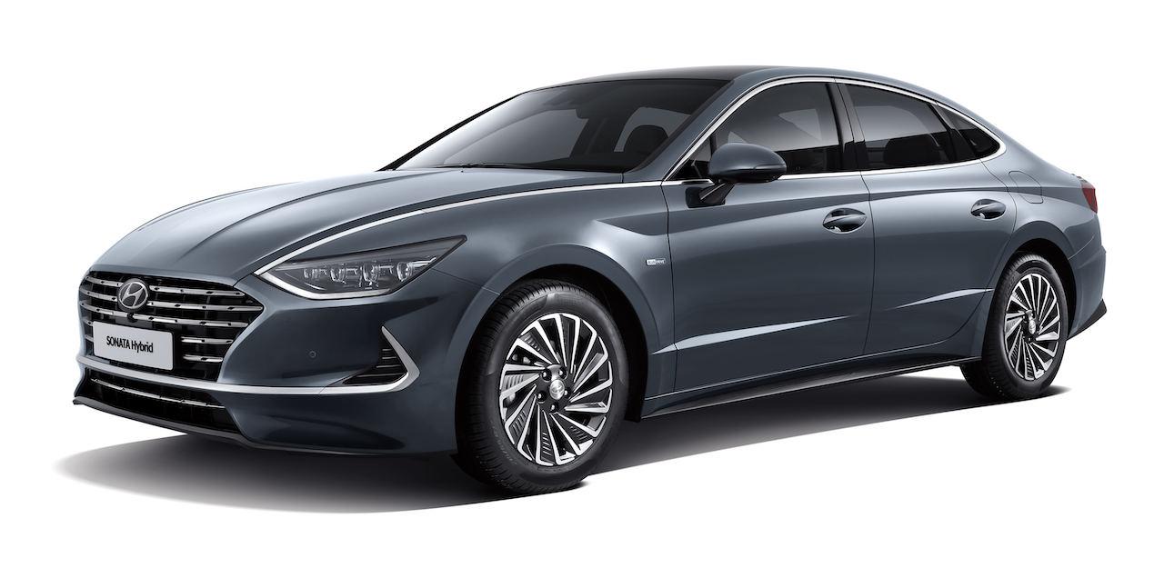 Hyundai Sonata híbrido y con techo solar debuta en Corea del Sur