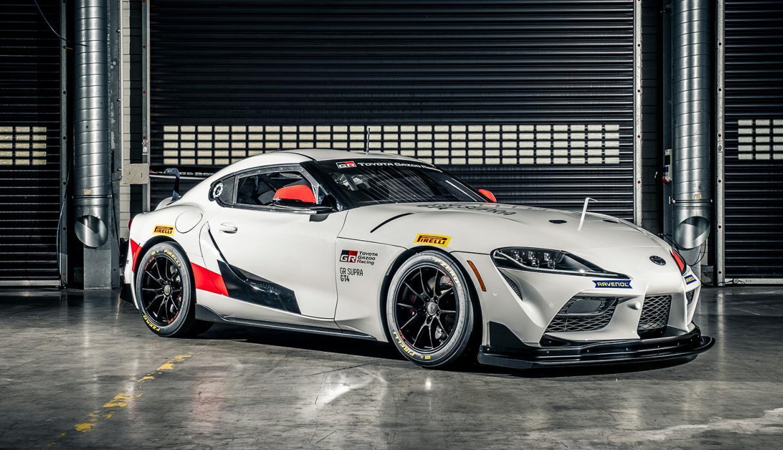 Toyota GR Supra GT4, listo para debutar en las pistas