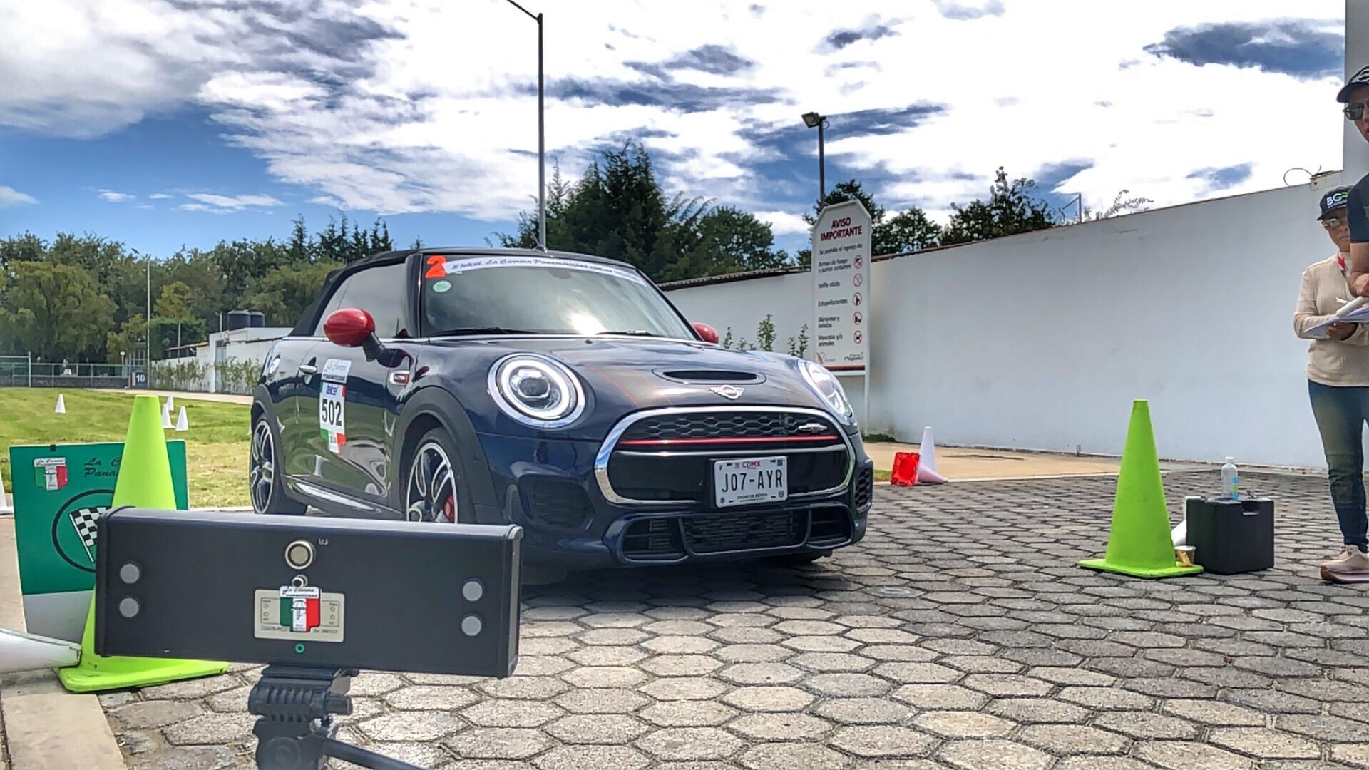 Calentando motores para La Carrera Panamericana
