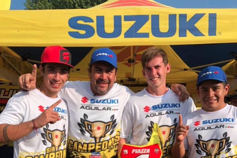 Suzuki: Campeón MX1 y Subcampeón MX2 Nacional de Motocross MX