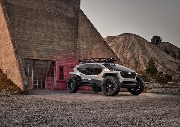 """El nuevo """"Off-Roader of the Future"""" – Un Audi AI:TRAIL quattro"""