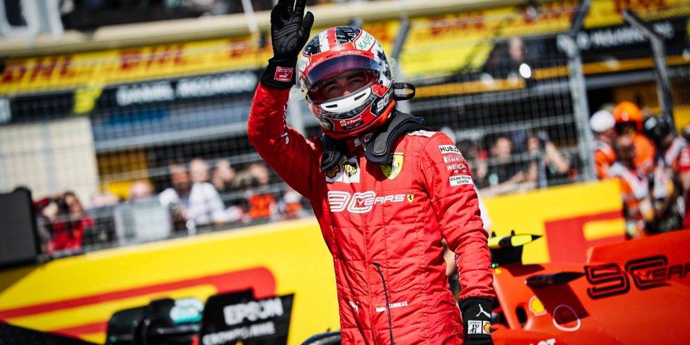 Leclerc sigue imparable y consigue su sexta pole position