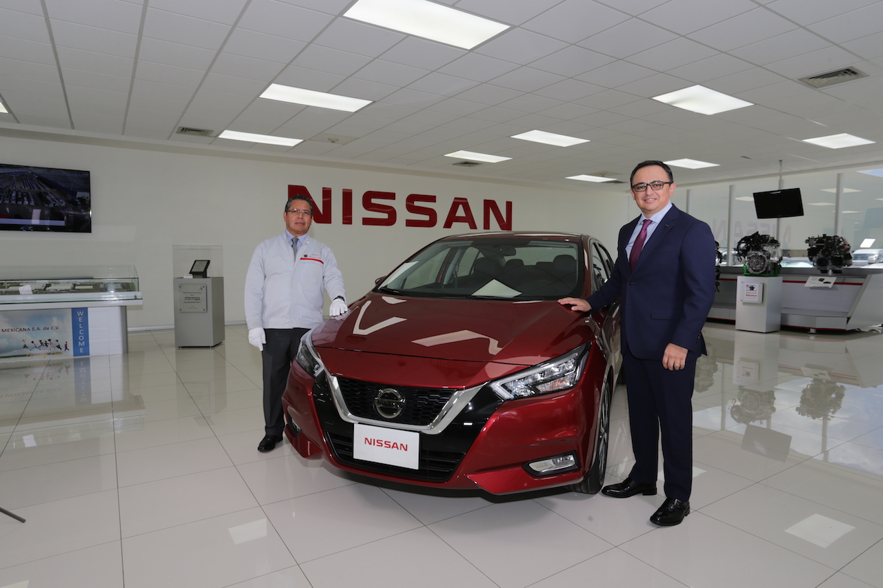 Nissan Mexicana inicia la producción del nuevo Versa 2020 en Aguascalientes