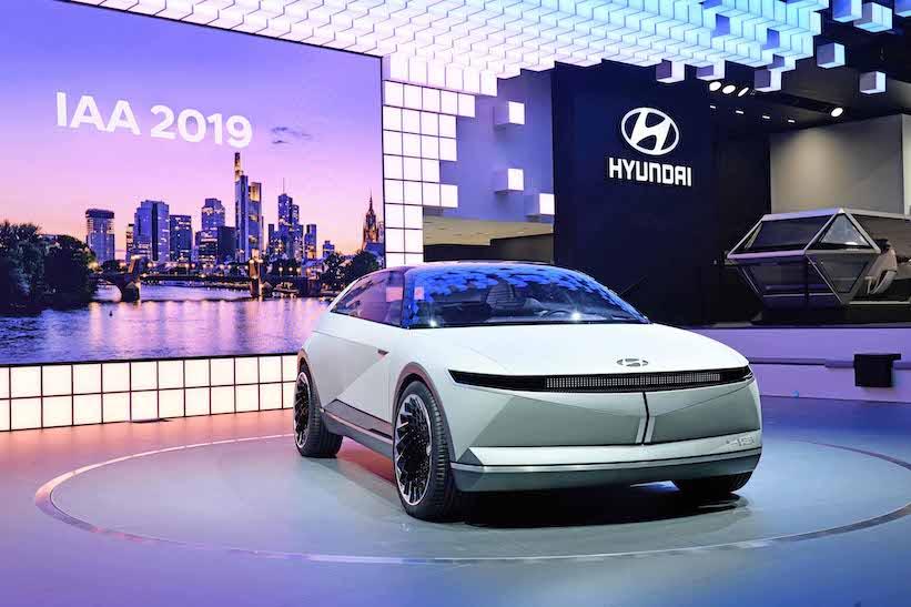 45 EV, una nueva era del diseño automotriz de Hyundai