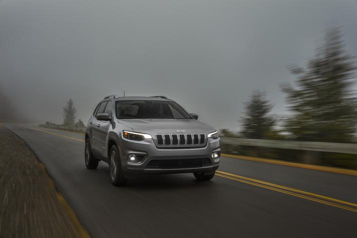 El Jeep Cherokee logra el Top Safety Pick del IIHS