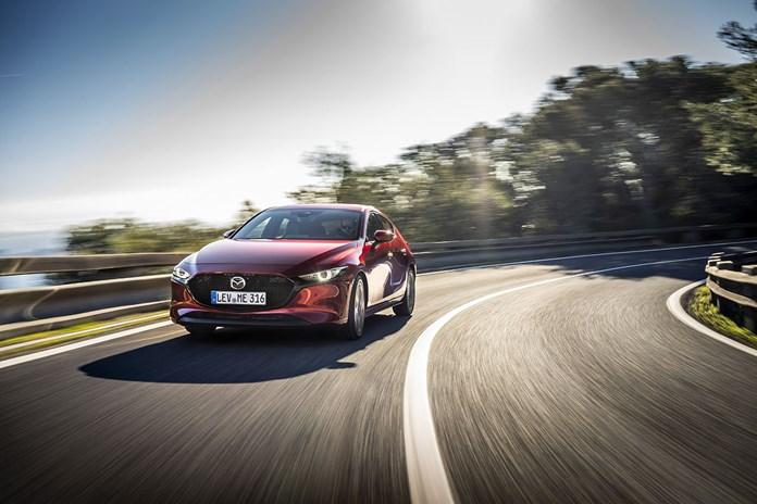 Mazda3 con motor Skyactiv-X