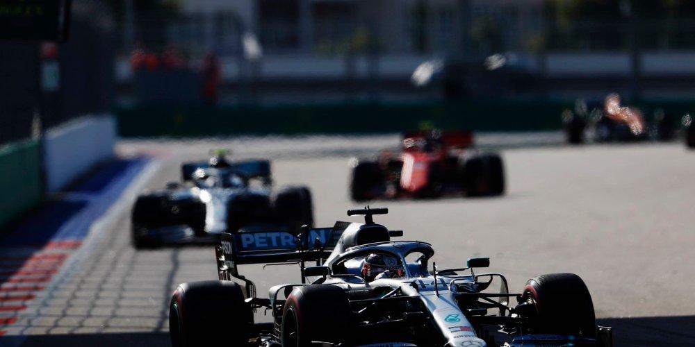 Cuarta victoria para Hamilton en Sochi