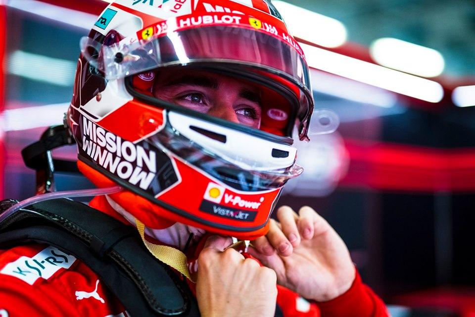 Leclerc hereda la pole tras penalización de Max Verstappen