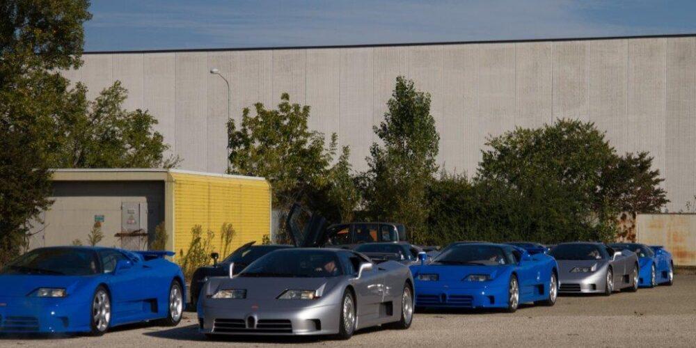 """Fábrica Azul"" (ex Bugatti Automobili SpA), reunión de Bugatti y Lotus"