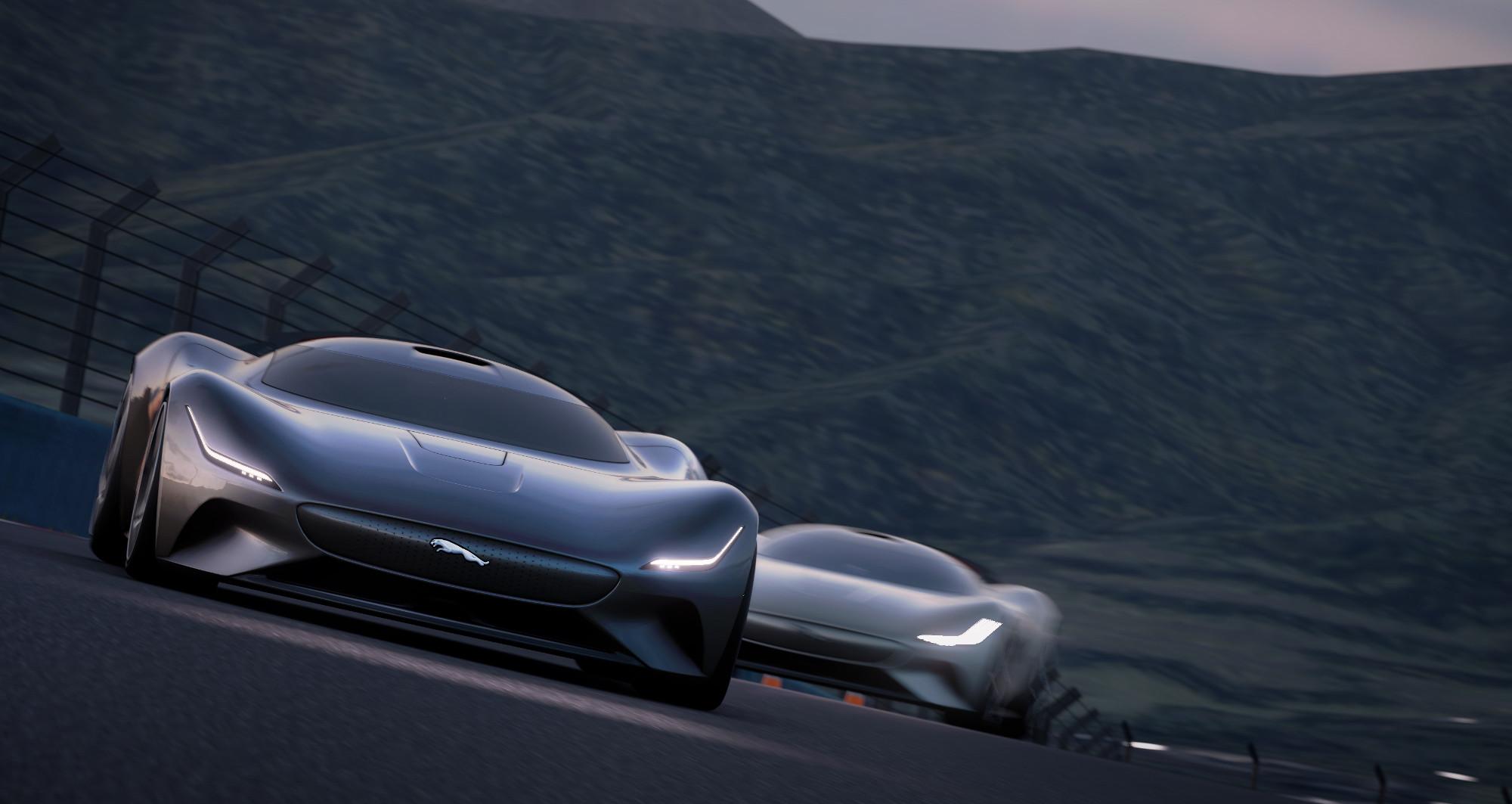 Jaguar Vision GT Coupé, virtuales posibilidades