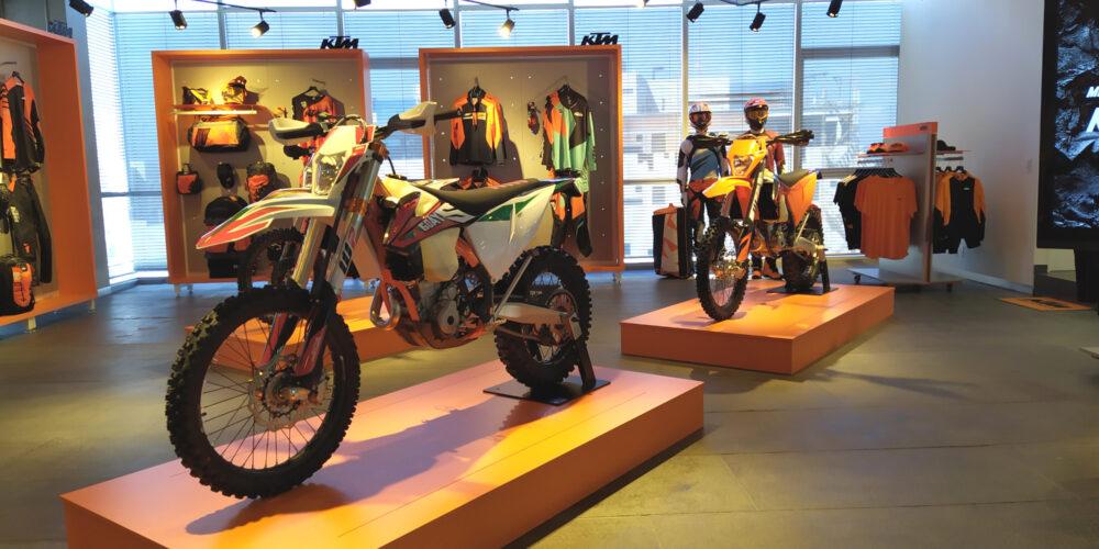 KTM modelos off road 2020