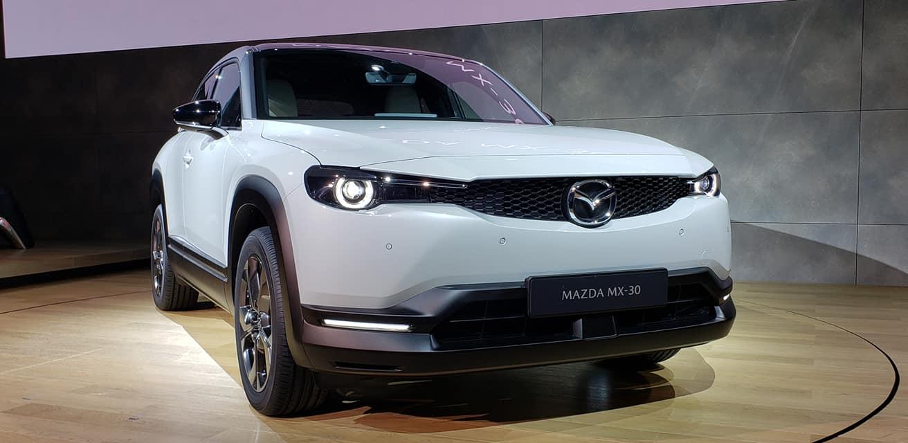 MX-30, así se llama el primer eléctrico de Mazda