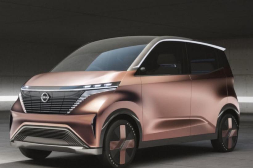 Nissan IMk, una propuesta de la movilidad urbana