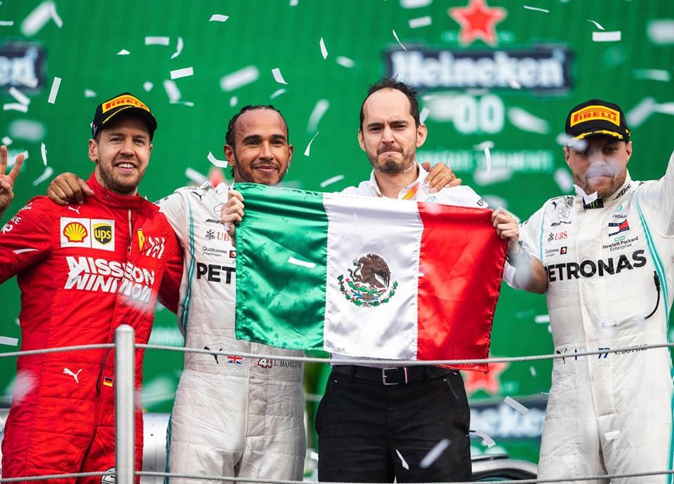Hamilton el protagonista de la F1ESTA del Gran Premio de México