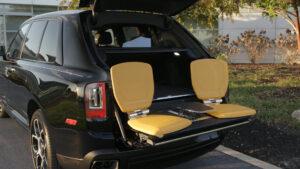 Rolls-Royce Cullinan asientos pic nic