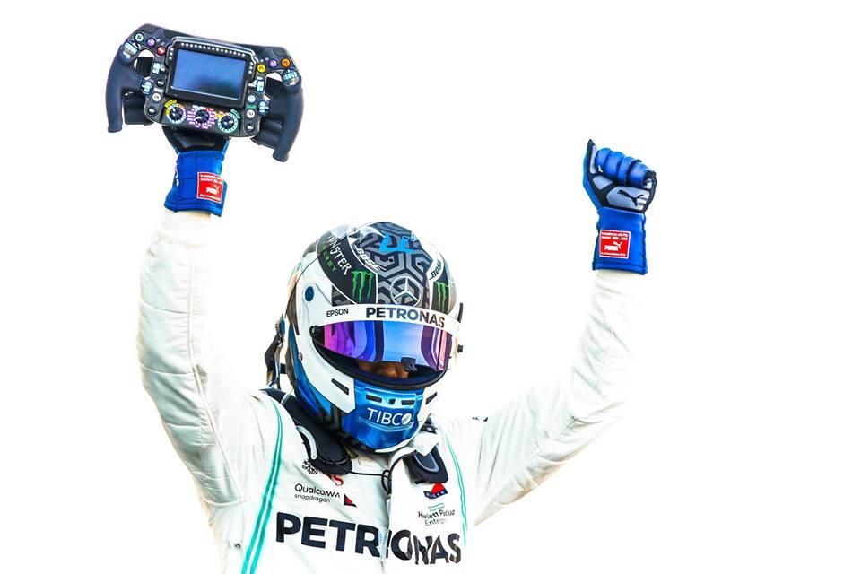 Valtteri Bottas el poleman del Gran Premio de Estados Unidos