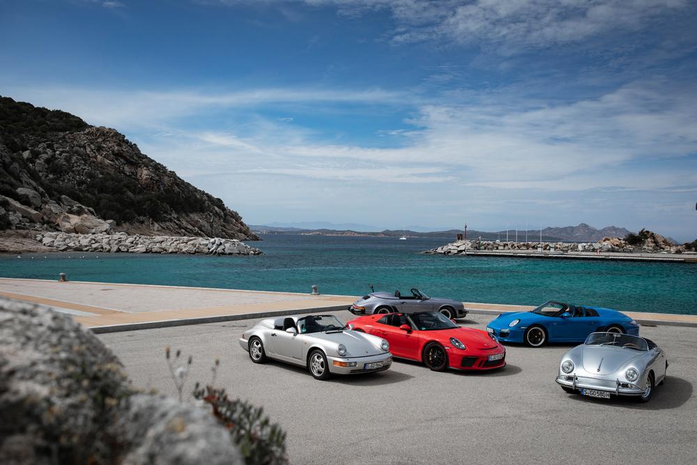 Generaciones Porsche Speedster
