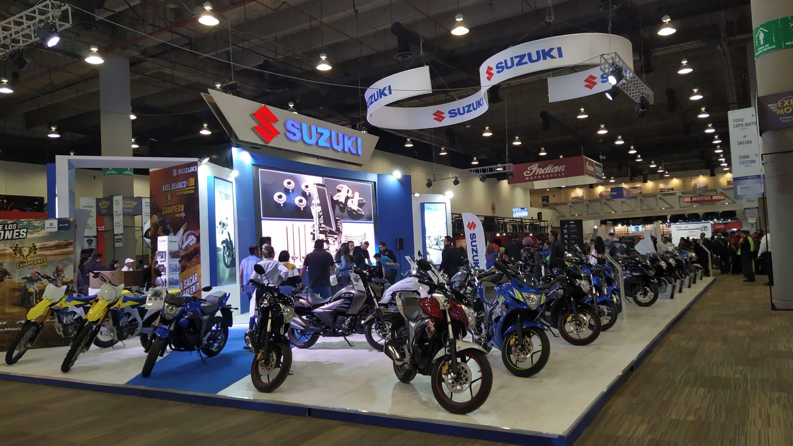 Suzuki presenta sus nuevos modelos en Expo Moto