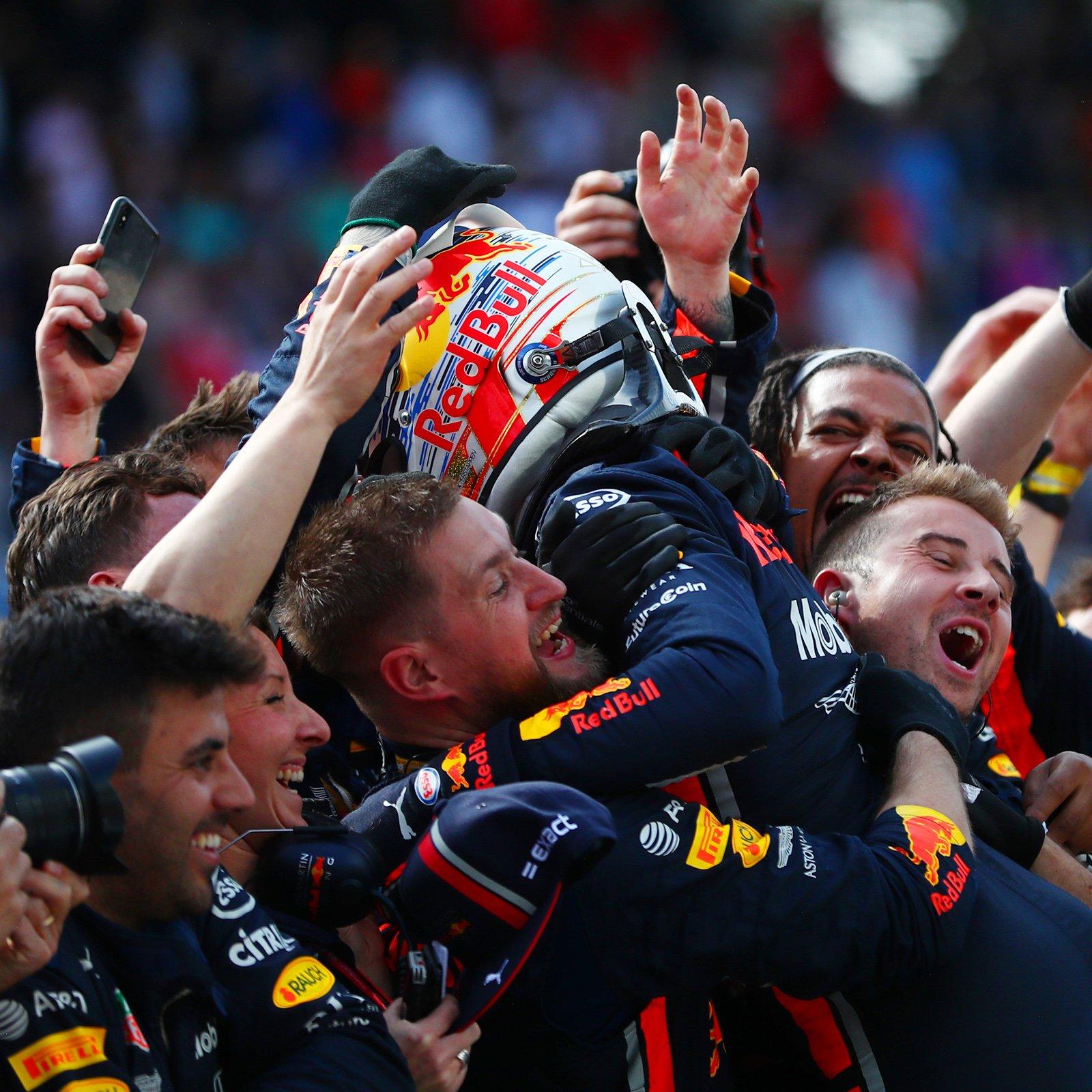 Verstappen ganó en Brasil