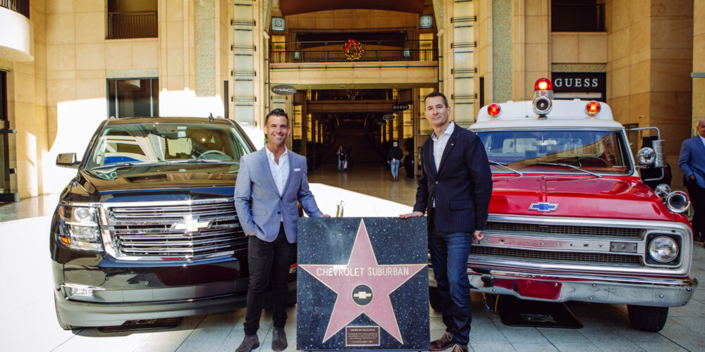CHEVROLET SUBURBAN RECOGNIZED BY FILM INDUSTRY, GETS HOLLYWOOD STAR.