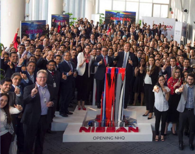 Nissan inaugura nuevo edificio corporativo en México